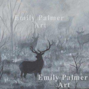 Foggy Morning Elk